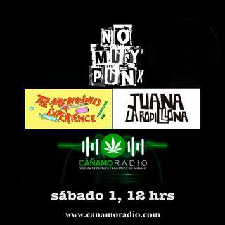 NoMuyPunx con Americojones y Juana la Rodillona
