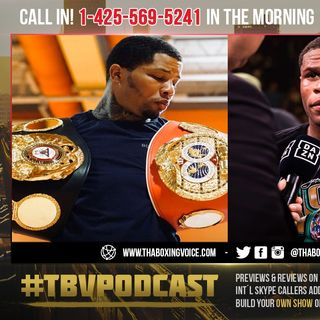 ☎️Eddie Hearn Fires Shots At Gervonta Davis😱 He's Fighting For a Regular Title❗️