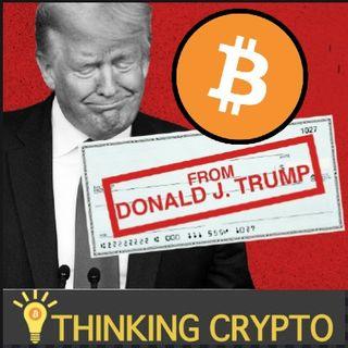 Stimulus Money Used To Buy Crypto - Bitcoin Volatility Tokens - Tezos $300M Tokenization - Binance Ethereum Blockchain