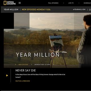 Karel Cast Fri May 19 Nat Geo's Year Million with Dave O'Connor