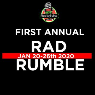 #RadRumble Day 7! Our RTW WWE Royal Rumble Kickoff Show!