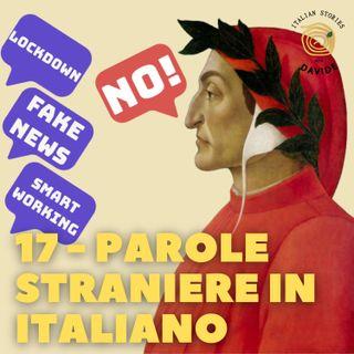 17 - Parole straniere in italiano