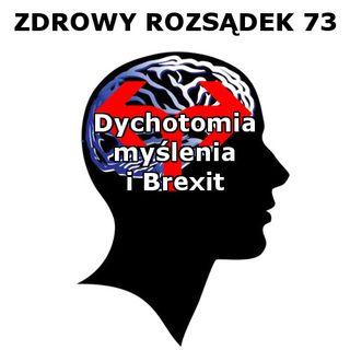 73 - Dychotomia myślenia i Brexit