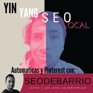 Webs automáticas y Pinterest en Seo Local con Víctor