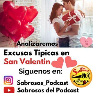 Excusas tipicas en San Valentin