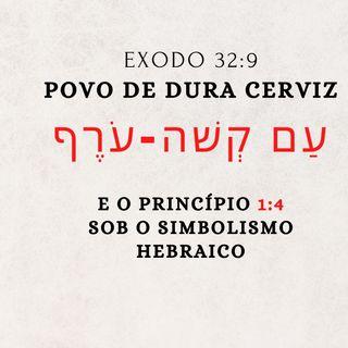 """O simbolismo do """"Povo de Dura Cerviz"""" - עַם קְשׁה-עֹרֶף - Êxodo 32:9"""