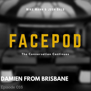 Episode 016 - Damien From Brisbane has lots of say about Batman's genitals.