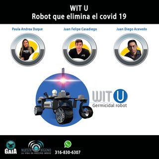 NUESTRO OXÍGENO Quindianos crean robot  que elimina el covid 19