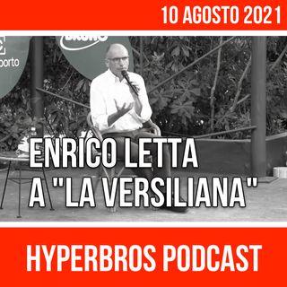 """Il segretario del PD Letta, a """"La Versiliana"""" Festival"""