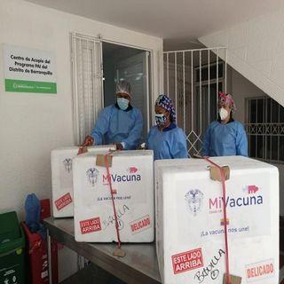 Llegan 67.340 vacunas contra Covid-19