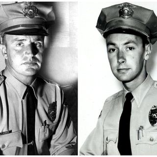 Police work, then and now. Interview with two old cops, Chief Jimmy Kennedy and Captain Dick Gray