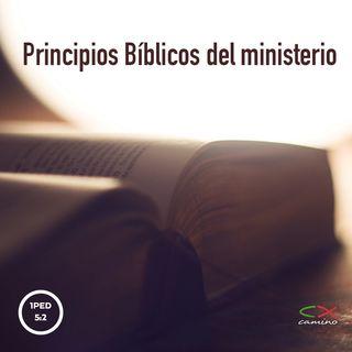 Oración 1 de julio (Principios Bíblicos del ministerio)