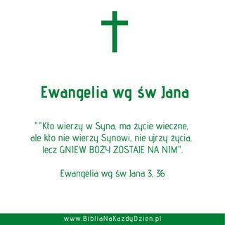 BNKD Ewangelia św. Jana 3, 36 - czym jest Gniew Boga