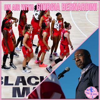 Pink&Roll - WNBA, Social Justice, Warnock, Atlanta, Georgia, e altri miti