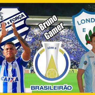 CSA 4 x 1 Londrina - Campeonato Brasileiro Série B 2018 rodada 25 narração tony santos radio maceio am