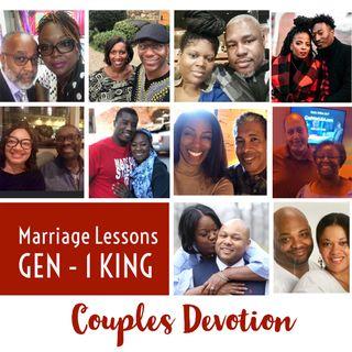 Couples Devotion | Marriage from GEN - 1 KINGS