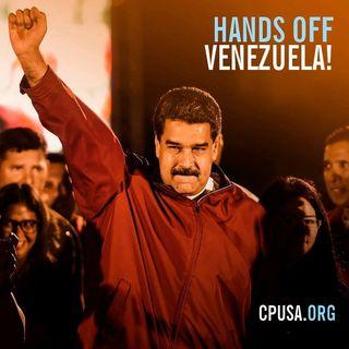 President Nicolás Maduro Address Anti-imperialist Day March