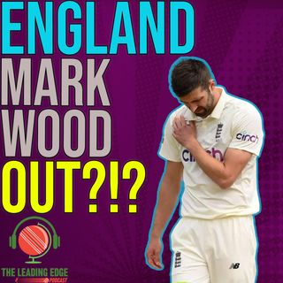 Mark Wood INJURED! | England India 3rd Test | The Hundred Final