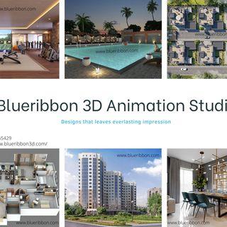 Business Park 3d architectural walkthrough created by Blueribbon 3d animation studio