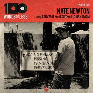 Nate Newton from Converge/Jesuit/Old Man Gloom/Doomriders