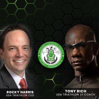 EP. 22: A Conversation with Rock Harris, CEO USA Triathlon