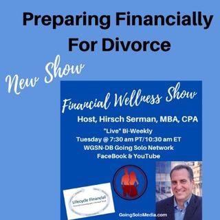 Preparing Financially  For Divorce