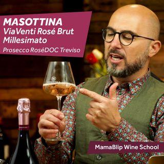 Glera - Pinot Noir | Masottina ViaVenti Rosé Brut | Wine Tasting with Filippo Bartolotta