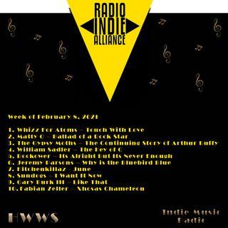 HWWS Indie Music Radio Top Ten 02082021