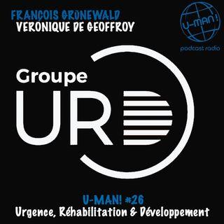 U-MAN! #26 Entretien avec François Grunwald et Véronique de Geoffroy