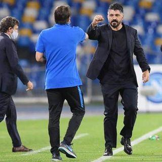 Coppa Italia, il Napoli di Gattuso elimina l'Inter e in finale ritrova Sarri. Di Eriksen il primo gol post-Covid