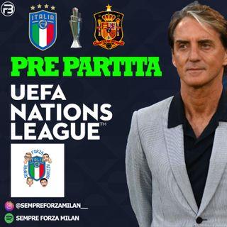 PRE PARTITA | ITALIA SPAGNA