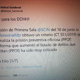 CT 551/2019 Corte racionaliza la Prisión Preventiva Oficiosa