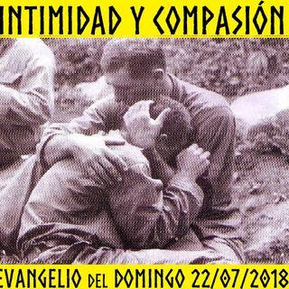 Intimidad y Compasión - Evangelio del 22/07/2018 – Domingo XVI T. Ordinario - Mc. 6, 30-34