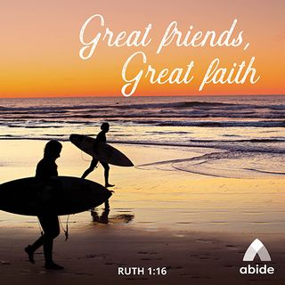 Great Friends, Great Faith