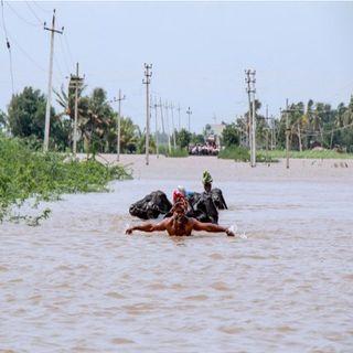 Lluvias torrenciales azotan a la India