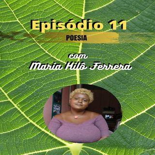 #ep11 Poesia com Maria Kilô - cidade enlutada