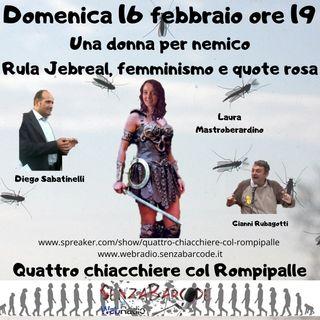 Una donna per nemico. Rula Jebreal, femminismo e quote rosa