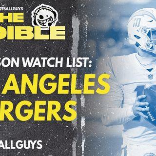 2021 Fantasy Football - Los Angeles Chargers Preseason Watch List