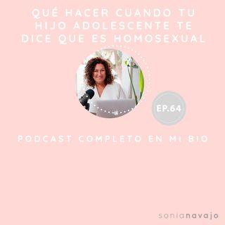 64-Qué hacer cuando tu hijo adolescente te dice que es homosexual