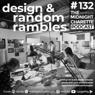 #132 - Our New Hotline, Design Processes, Quitting Your Job to Start a Business, and Depression