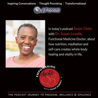 Susan chats with functional medicine doctor, Susan Lovelle