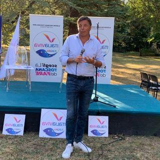 Matteo Renzi (Italia Viva) a Cafaggiolo per le Regionali 2020