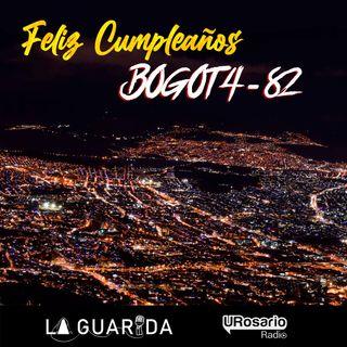 ¡Feliz cumpleaños Bogotá!
