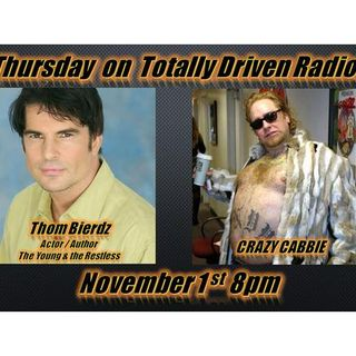 Totally Driven Radio #301 w/ Thom Bierdz & Crazy Cabbie