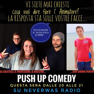 2 x 5 Push Up Comedy, seconda stagione : in studio l'animatore Simone Pontini