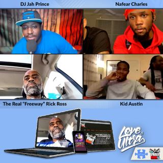 Episode 130: Freeway Ricky Ross with Kid Austin and Nafear Charles Ultimate Fight Series Atlanta