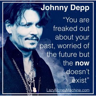 19: Live in the now - Johnny Depp