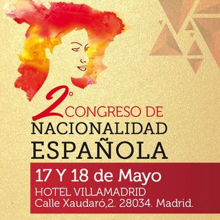 Entrevista en Capital Radio 17/04/18 - 2º Congreso de Nacionalidad Española