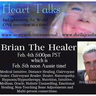 Sheila SiStar's Heart Talks: Brian The Healer,