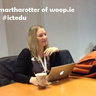 With @martharotter at #ictedu